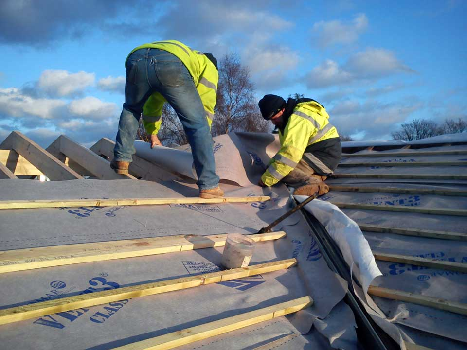 Home improvements, extensions, roofing